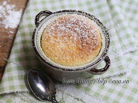 Tráng miệng tuyệt vời với bánh pudding chanh nướng thơm lừng