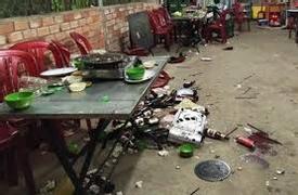 Thanh niên đang ngồi ăn cơm bị 2 kẻ lạ mặt chém tử vong