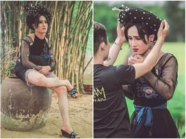 Huỳnh Lập đẹp xuất thần khi hóa thân thành dì ghẻ trong 'Tấm Cám: Chuyện Huỳnh Lập kể'
