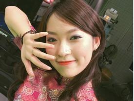 Hotgirl Khánh Vy lại gây sốt với màn 'bắn' giọng 3 miền trong bản tin thời sự