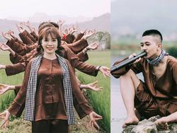 'Chất đừng hỏi' phong cách chụp ảnh 'hai lúa' của teen Hòa Bình