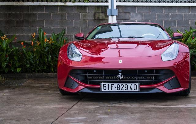 """Cận cảnh """"hàng tuyển"""" Ferrari F12 Berlinetta của Cường """"Đô-la"""" - Ảnh 1."""