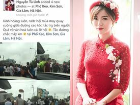 Vừa kết hôn, Tú Linh MU đã khiến dân mạng dậy sóng vì phát ngôn xúc phạm hội làng