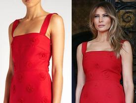 Đệ nhất phu nhân Melania Trump cắt phăng chiếc váy 120 triệu để tiếp đón nguyên thủ quốc gia