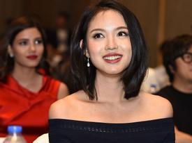 Hoa hậu Thế giới Trương Tử Lâm vẫn xinh đẹp rạng rỡ dù bận rộn 'bỉm sữa'