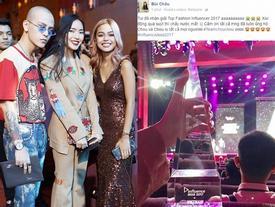 Châu Bùi thắng lớn ở hạng mục Top Fashion tại Lễ trao giải Influence Asia 2017