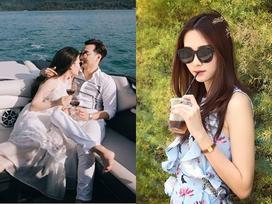 FB 24h: Vợ chồng Thành Trung 'khóa môi' ngọt ngào trước biển