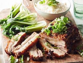 Thịt ba chỉ nướng nước dừa và hoa hồi