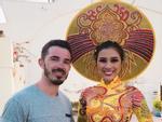 Nguyễn Thị Thành tự tin khoe quốc phục lộng lẫy tại 'Miss Eco International 2017'