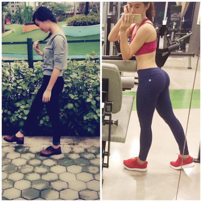 Bí quyết sở hữu thân hình chuẩn của cô gái 9x từng bị suy dinh dưỡng với cân nặng chỉ có 35kg - Ảnh 1.