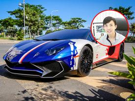 Cận cảnh bộ áo mới trên Lamborghini Aventador SV 32 tỷ Đồng của Minh 'Nhựa'