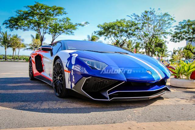Cận cảnh bộ áo mới trên Lamborghini Aventador SV 32 tỷ Đồng của Minh Nhựa - Ảnh 2.