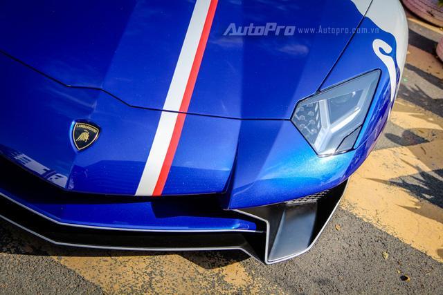 Cận cảnh bộ áo mới trên Lamborghini Aventador SV 32 tỷ Đồng của Minh Nhựa - Ảnh 5.