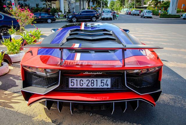 Cận cảnh bộ áo mới trên Lamborghini Aventador SV 32 tỷ Đồng của Minh Nhựa - Ảnh 6.