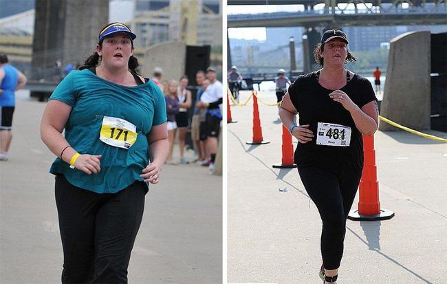 Người phụ nữ nặng gần 122,5kg đã giảm hơn 18kg chỉ nhờ chạy 1-2 lần/tuần - Ảnh 1.