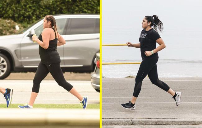 Người phụ nữ nặng gần 122,5kg đã giảm hơn 18kg chỉ nhờ chạy 1-2 lần/tuần - Ảnh 2.
