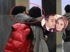 Dương Mịch và Lưu Khải Uy bị bắt gặp 'khóa môi' ngọt ngào trên phố