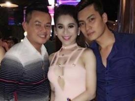 Tình cũ và chồng sắp cưới của Lâm Khánh Chi gặp nhau vẫn vui vẻ