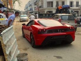 """Nghi vấn Ferrari 430 Scuderia của Dũng """"mặt sắt"""" xuất hiện tại Tuyên Quang"""