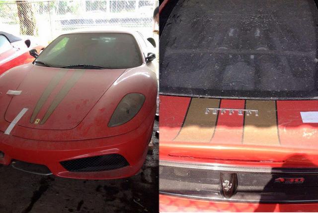 Nghi vấn Ferrari 430 Scuderia của Dũng mặt sắt xuất hiện tại Tuyên Quang - Ảnh 2.