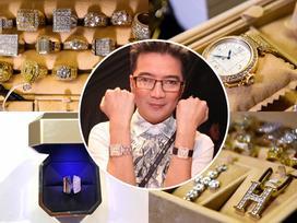 Cộng thêm chiếc nhẫn Dương Triệu Vũ tặng, bộ sưu tập kim cương của Mr Đàm 'khủng' đến mức nào?