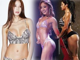 Bộ ba 'nữ thần phòng gym' xứ Hàn khiến mày râu chao đảo