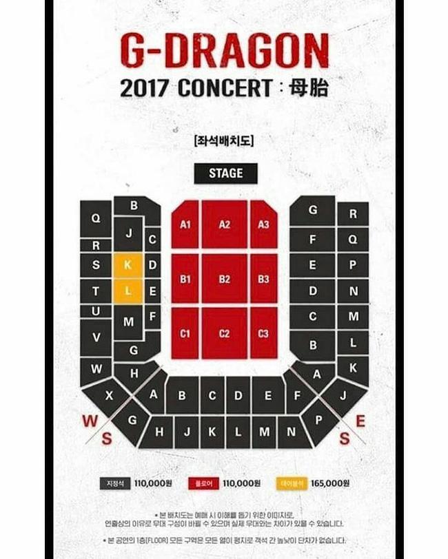 Khán giả xem concert của G-Dragon thiệt thòi so với xem concert của EXO - Ảnh 1.
