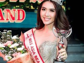 Cử nhân Học viện Hàng không Việt Nam đăng quang người đẹp châu Á