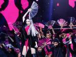 Bảo Thy tóc trắng toát múa quạt điệu nghệ thách thức đối thủ Remix New Generation