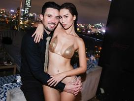 Sau chiếc váy gây shock thảm đỏ, Hà Anh tiếp tục khoe body rực lửa với bikini