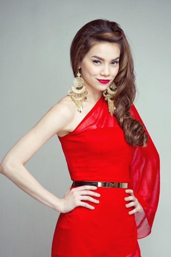 "nha phuong, my tam ha guc fans voi style ""mot mat mot con"" hinh anh 2"