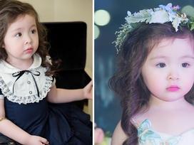 Cadie Mộc Trà xinh như công chúa trong lần đầu catwalk cùng mẹ Elly Trần