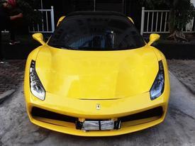 Ferrari 488 GTB của đại gia Hà Nội xuất hiện trong garage Cường 'Đô La'