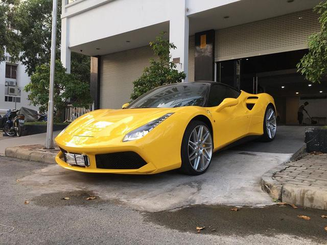 Ferrari 488 GTB của đại gia Hà Nội xuất hiện trong garage Cường Đô-la - Ảnh 1.