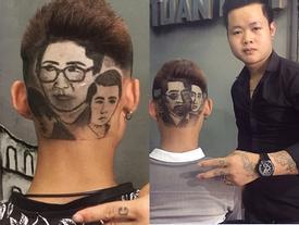 Hot: Chàng trai cạo đầu giống nhân vật trong phim 'Người phán xử' - 'Sống chung với mẹ chồng'