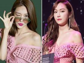 Váy của 'chị chảnh' Jessica đụng hàng chan chát với loạt mỹ nhân K-Pop