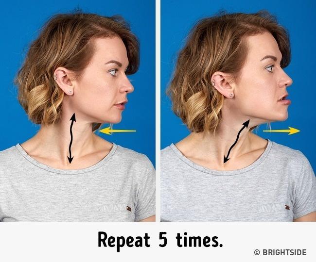 7 bài tập cực đơn giản nhưng hiệu quả nhất để có cằm xinh, mặt trẻ - Ảnh 4.