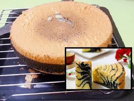 Bánh Ogura 'ngựa vằn' mềm mịn, thơm ngon ai ăn cũng thích