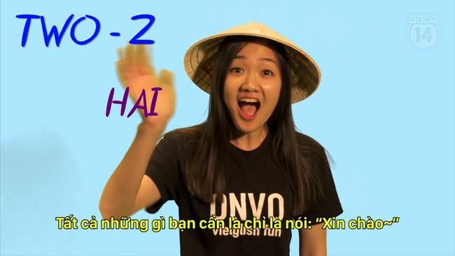 Cô nàng hát hit của Justin Bieber theo cải lương lại vừa... dạy đếm số tiếng Việt bằng nhạc! - Ảnh 4.