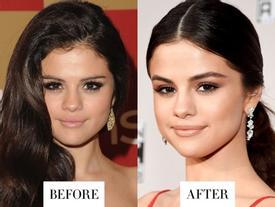 Selena Gomez, Adele trông thế nào khi thay đổi lông mày?
