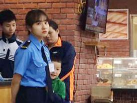 Chỉ một bức hình chụp lén, nữ bảo vệ bất ngờ nổi tiếng vì quá xinh!