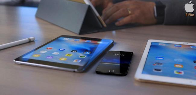 Cận cảnh iPhone 8 Plus đẹp rụng rời khiến ai cũng đứng ngồi không yên - Ảnh 2.