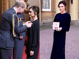 Victoria Beckham vinh dự được Hoàng gia Anh phong tước 'Sĩ quan đế chế Anh'