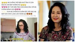 NSND Hương 'Bông' buồn lòng khi nhiều nhãn hàng lợi dụng hình ảnh mẹ chồng để quảng cáo
