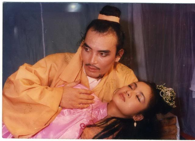 Nhân vật Cậu Giời trong Đêm hội Long Trì đã đưa tên tuổi nghệ sỹ Hoàng Thắng vang xa. Ảnh: TL.
