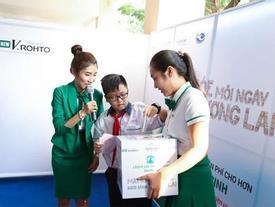 Chăm sóc mắt học đường cho 40.000 học sinh
