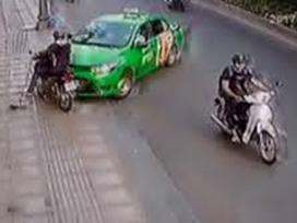 Tài xế tông taxi vào tên cướp ở Sài Gòn: 'Tôi không sợ trả thù'