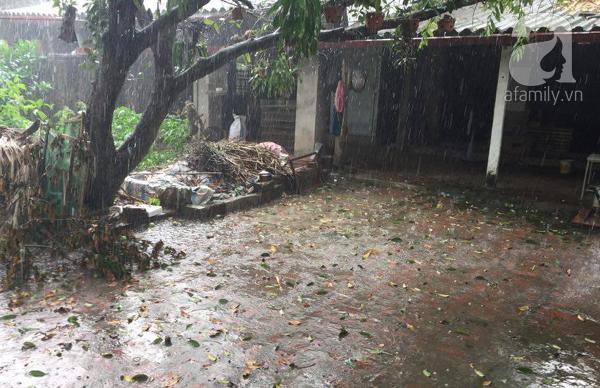 Sau Hòa Bình, mưa đá bất ngờ xuất hiện tại Hà Nội - 1