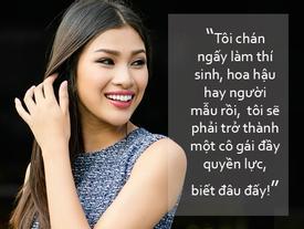 Nguyễn Thị Thành: 'Biết đâu sau này tôi sẽ là một cô gái quyền lực'