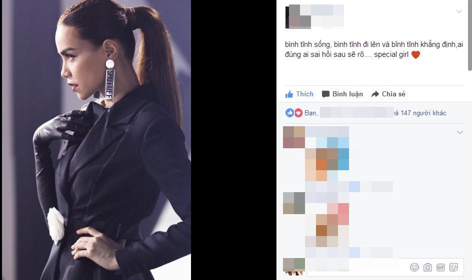 Chị dâu động viên Hồ Ngọc Hà giữa bão scandal bị tố chèn ép Minh Hằng -01